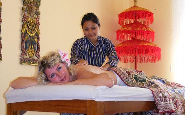 Thajská masáž zad a šíje jen za 219Kč!