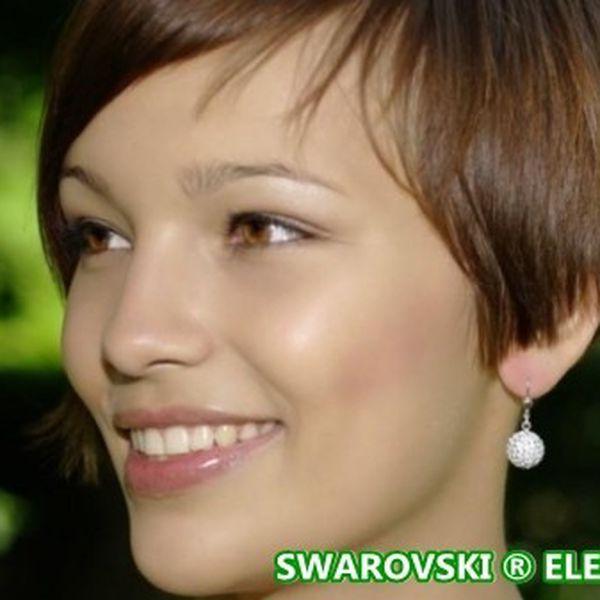 Luxusní ŠPERKY Swarovski ® Elements jako elegantní vyznání lásky nejen na Valentýna! Přívěšek Kulička, naušnice Kulička nebo stříbrný hranatý řetízek již od 175 Kč!
