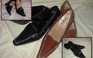 Elegantní lodičky z kůže - praktičnost, střih a pohodlí pro vaše nožky!