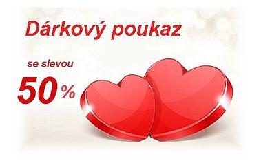 Dárkový poukaz na kosmetické služby dle vlastního výběru s valentýnskou slevou 50% !