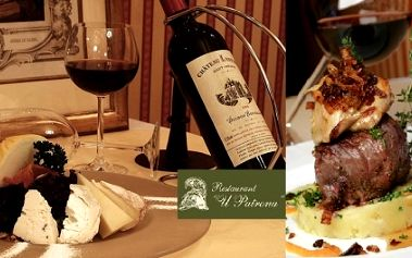 Speciálně na VALENTÝNA! Výjimečný valentýnský večer v restauraci U Patrona! 2x čtyřchodové luxusní menu s 50%slevou obsahuje: LOSOSOVOU PAŠTIKU, SLÁVKY na víně, PANENKU s liškovou omáčkou a jahody v čokoládě s Baiyles!