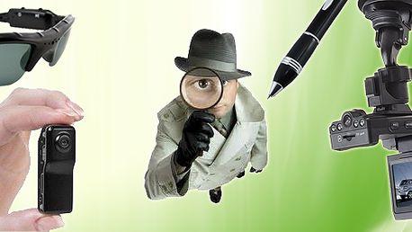 Fotíte? Natáčíte? Jste tajný špión, sportovec nebo kaskadér? Využijte jedinečnou nabídku a pořiďte si rozličné minikamery z e-shopu palác zboží! Široký sortiment nabídky!