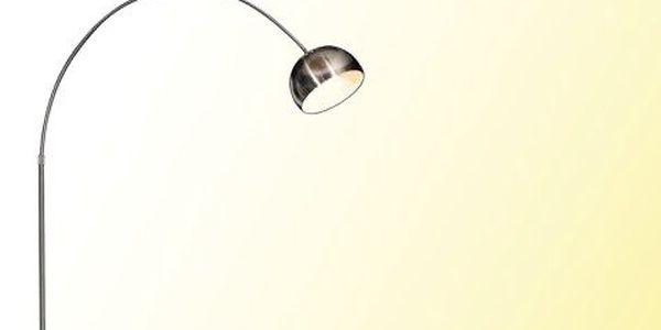 Stylová stojací lampa! Vybavte si kancelář nebo dům obloukovou stojací lampou o výšce 230 centimetrů.
