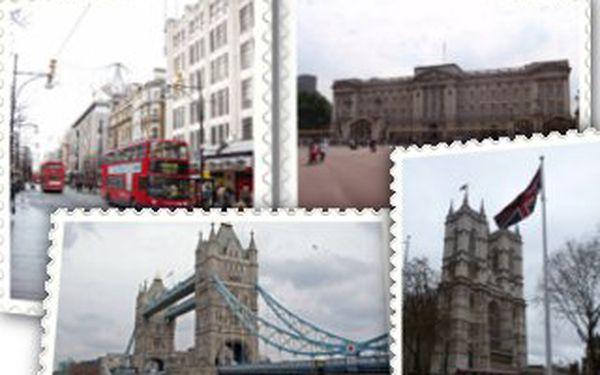 8.990,- Kč za čtyřdenní letecký zájezd do Londýna! Navštivte všechny památky Londýna pod vedením zkušeného průvodce!