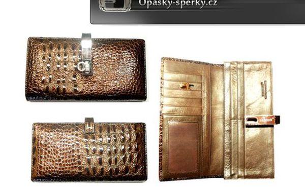 Luxusní kožené peněženky Hassion – s nadčasovým designem. Úžasný doplněk lahodící oku! Skvělý tip na báječný dárek! Na výběr z 12 variant!