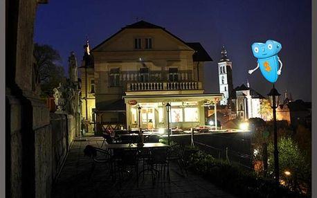 Kutná Hora, Hotel Opat nebo Vila U Varhanáře. Třídenní pobyt pro 2 osoby včetně snídaně a degustační večeře. Romantický pobyt v centru starobylého královského města, památky UNESCO.