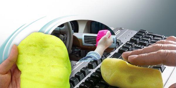 Pro Auto Kouzelný silikonový hadřík za skvělých 189 Kč! Tato plastelína Vám pomůže vyčistit nepřístupné spáry v automobilech, klávesnici, mobilní telefon a další elektroniku!