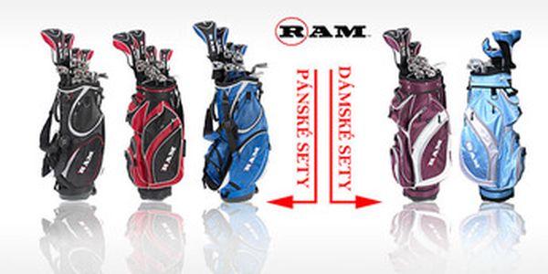 Top kompletní golfové sety značky RAM G-Force i s bagem s mrazivou 40% slevou od 5988 Kč. Pánské i dámské v různých variantách. AKCE JE LIMITOVÁNA, tak honem honem