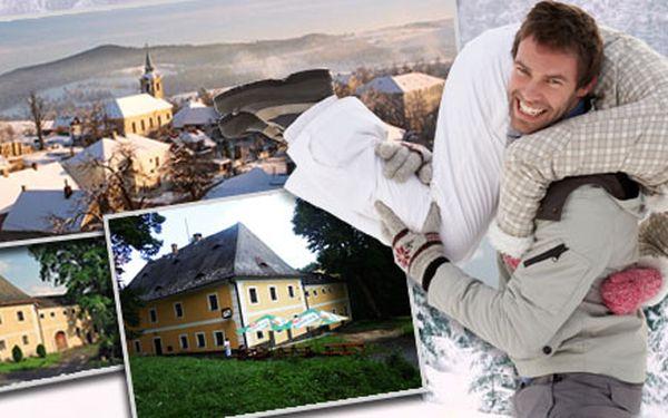2490 Kč za 3denní wellness pobyt pro DVA v Penzionu Panský dům. Snídaně, malé děti zdarma a chráněná oblast Žďárské vrchy se slevou 57 %!