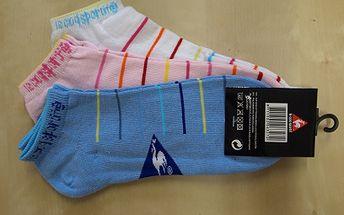 Dámske športové ponožky LeCoqSportiff len za 3,20 €