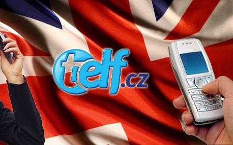 Výuka angličtiny po telefonu! Telf je efektivní metoda pro ty co mají málo času nebo slabou vůli! Vyzkoušejte ZDARMA dvě lekce!