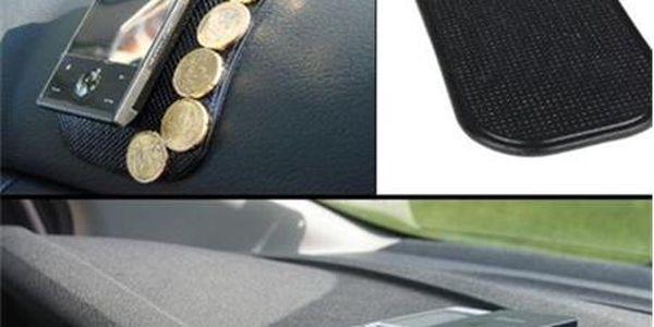 NANOPODLOŽKA 1+1 ZDARMA za pouhých 55,-Kč - Nanopodložka do auta je top novinkou letošního roku. Pořiďte si jí i Vy. V akci jedna nanopodložka za 55,- Kč a k tomu navíc získáváte druhou ZDARMA. Nanopodložka na sobě výborně udrží drobné předměty i při otřesech za jízdy. Díky nanopodložce Vám nespadnou brýle nebo mobil zpalubní desky. Nanopodložka přináší větší pohodlí při cestování.