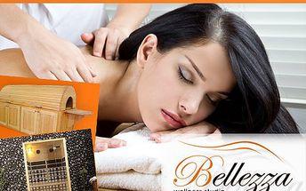 Relaxační permanentka! 1000 kreditů na masáže, infrasaunu, bylinnou lázeň vás zbaví stresu a napětí!