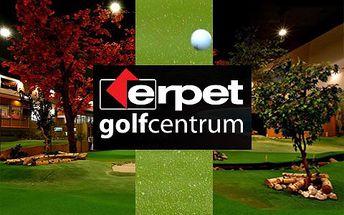Vstup na golfovou plochu – profesionální služby, špičkové zázemí. Lze spojit s návštěvou restaurace či využít široké nabídky dalších sportů!