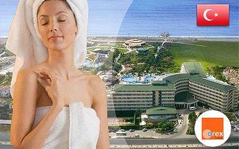 FIRST MINUTE do Turecka na 8 dní so službami All Inclusive v 5* hotelovom rezorte Pemar Beach Resort od CK Orex - odlety z BA, KE a z letiska Sliač! Všetky poplatky v cene! Pre rezerváciu stačí zaplatiť zálohovú platbu len 160€/osoba.