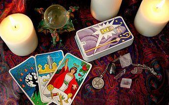 Všeobecný výklad karet! Celých 30 minut pro nahlédnutí do vaší budoucnosti!