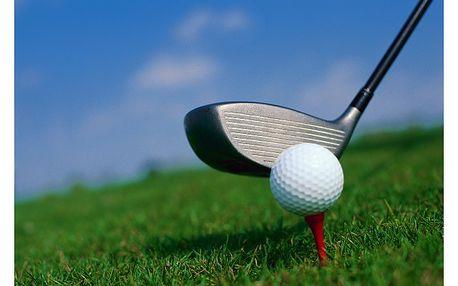 Golf & wellness 5 dnů (4 noci) jen za . . . 5999,- Kč