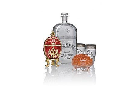 Prvotřídní vodka Tsarskoe Selo pro cara Mikuláše II jen za . . . 500,-kč