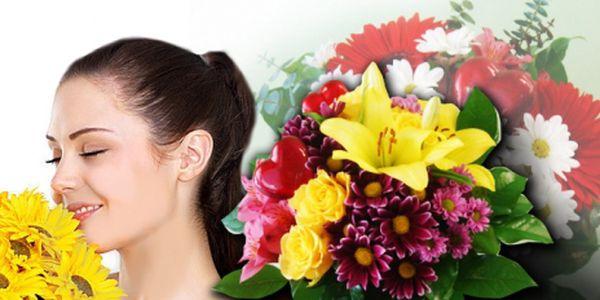 Valentýnská míchaná kytice v hodnotě 610 Kč za pouhých 299 Kč! Skladbu květin si zvolíte Vy sami! Udělejte radost své drahé polovičce! Sleva 51%!