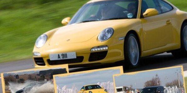 Kurz bezpečné jízdy s Porsche! 5hodinový kurz bezpečné jízdy s Porsche Boxster S a vlastním vozem!