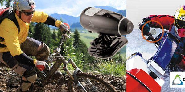 1890 Kč za profesionální sportovní kameru SD 10 CEL-TEC, vodotěsná. Adrenalinové sporty a potápění se slevou 34 %!