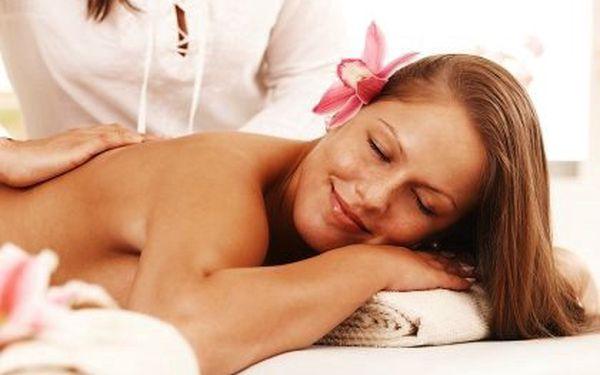 Hodinová masáž celého těla – celková fyzická i psychická relaxace, uvolnění svalů a kloubů, povzbuzení krevního oběhu