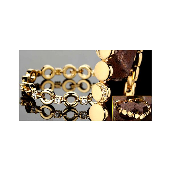 Luxusní pozlacené náramky Yves Camani se Swarovski včetně poštovného za neuvěřitelných 990 Kč! Udělejte své milované radost tímto překrásným šperkem!