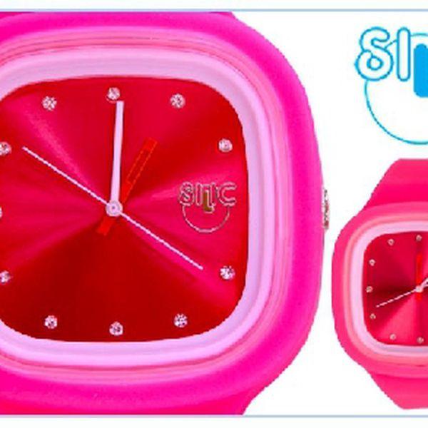 Značkové hodinky ve speciální edici Crystal. Vyberte si barvu a potěšte svou drahou polovičku stylovým dárkem k Valentýnu!