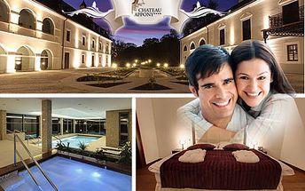 3-dňový wellness pobyt pre 2 osoby v atraktívnom hoteli Chateau APPONY**** pri Nitre! V cene polpenzia + voľný vstup do saunového a bazénového sveta! Nechajte sa očariť krásnou históriou tohto renesančného hotela!