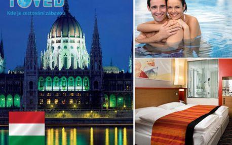 3 nezabudnuteľné dni s vašou láskou v BUDAPEŠTI - ubytujte sa v novootvorenom Royal Park Boutique Hotel**** s 50% zľavou! Príďte sa okúzliť fascinujúcimi pamiatkami tejto kultúrnej metropoly so svetoznámymi kúpeľmi!
