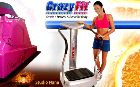Potřebujete si zacvičit, zhubnout, formovat Vaši postavu, zbavit se celulitidy a mnoho dalšího? Máme pro Vás kombinaci cvičení na Crazy Fit Vibrační platforma a Vacu Elite Infra!