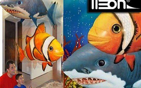 Létající ryba s héliem vás dostane – hračka roku 2011 potěší všechny generace. Nechte tuto impozantní potvůrku plout, kam chcete!