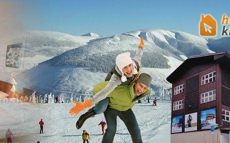 Třídenní pobyt s polopenzí přímo v hlavním skiareálu Sv. Petr - Hotel Lenka*** Špindlerův Mlýn …z bačkor rovnou na lyže!