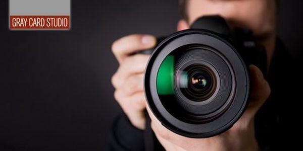 1denní kurz fotografování! Naučte se fotit portréty a módní fotografie s profesionálními lektory!
