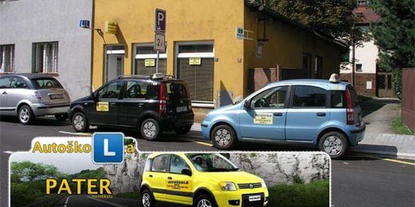 7 190,- Kč za RYCHLOKURZ nebo EXCLUSIVE výcvik na řidičský průkaz sk. B za cenu běžného kurzu v autoškole PATER v Ostravě!