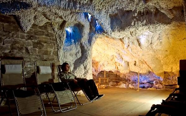 Dva vstupy nebo vstup pro dva do solné jeskyně v Dětmarovicích za 99 Kč.
