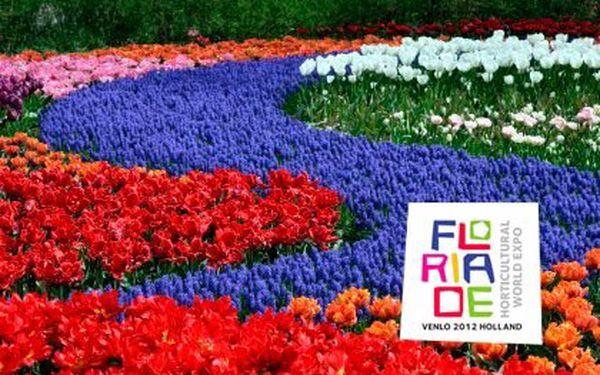 Třídenní zájezd na světovou zahradnickou výstavu Floriade 2012 – koná se exkluzivně jednou za 10 let v Holandsku. V ceně 1 nocleh se snídaní, doprava a služby průvodce, spojeno s prohlídkou německého Porýní