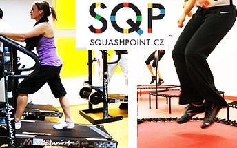 60 Kč za jednu lekci (Alpinning a Jumping) ve Squashpointu!!! 600 Kč za 10 libovolných lekcí.