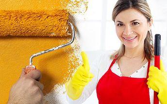 Nechte si vymalovat či uklidit Váš byt. Věřte, že bude vypadat o poznání líp. 50% sleva na vymalování bytu, jeho úklid nebo na jiné služby, které firma Petrovo malování nabízí.