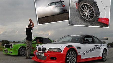 Super drift – jízda přetáčivým smykem na vlastní kůži!