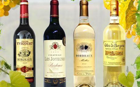 Ochutnejte kvalitní víno z Francie, jeho vůně se příjemně rozvine. 53% sleva na 2 lahve vína. Vyberte si kvalitní bílé či červené francouzské víno.