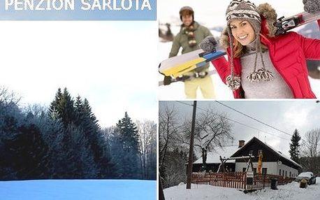 3 dny v Jizerských horách! Pobyt s polopenzí, nádherná příroda vhodná pro lyžování, turistiku i výlety na horských kolech!