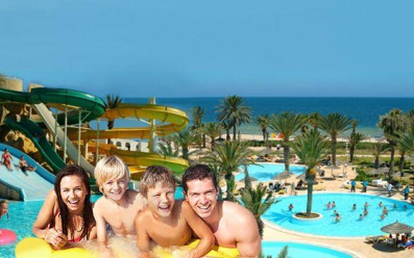 Letecky s ALL INCLUSIVE za bomba cenu, jen 9.800 Kč! Krásný 3*+ hotel PŘÍMO NA PLÁŽI s AQUAPARKEM v Tunisku! Miminko do 2 let ZCELA ZDARMA! Udělejte si radost k Valentýnu krásnou dovolenou! Ušetříte 7.190 Kč na osobu!