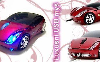 Luxusní USB myš ve tvaru auta Ferrari za pouhých 249Kč. POŠTOVNÉ ZDARMA. Parádní DÁREK, který potěší každého! Sleva 41%.