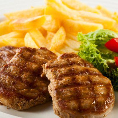 Kilo steaků na lávovém grilu jen za 239 Kč!