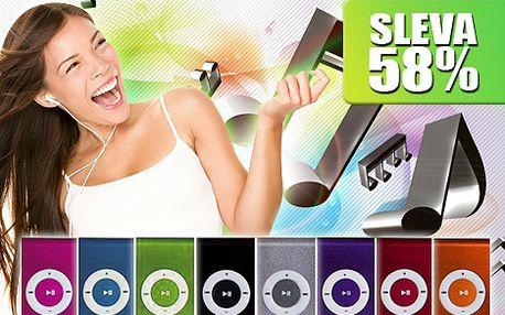 Pouze 179 Kč za stylový mini MP3 přehrávač včetně sluchátek a USB kabelu!