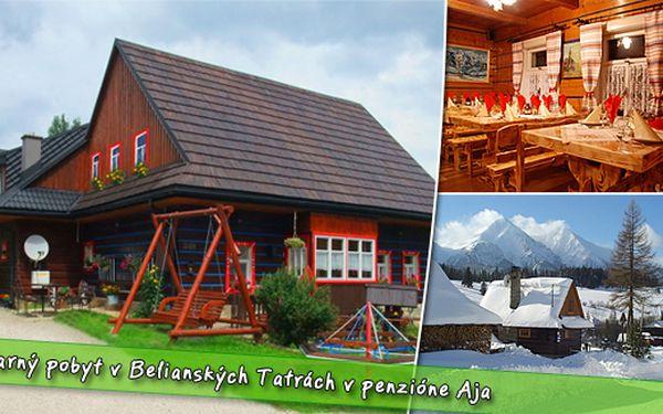 Užijte si dovolenou na Slovensku jen za 1970 Kč na 4 dny pro 1 osobu. Vydejte se za turistikou či odpočinkem do Belianských Tater. Ubytování, polopenze, jízda na koni, půjčení kol a vyhřívaný bazén.
