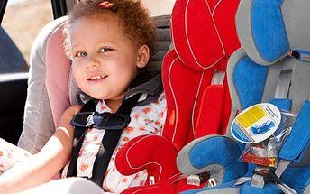 Zajistěte dětem bezpečí a zdraví, autosedačka je při jízdě ochrání. 44% sleva na autosedačku a podsedák v jednom značky Bobolino RIDER s nosností 9-36kg pro děti od 9 měsíců do 12 let.