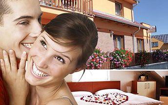 3 dny v jižních Čechách, relax ve vířivce, sauně i bazénu. Dovolená pro 2 osoby na 2 noci s polopenzí, vstupem do bazénu, 2 hodiny ve vířivce a sauně. Děti do 4 let ZDARMA a děti od 4 do 18 let s 50% slevou.