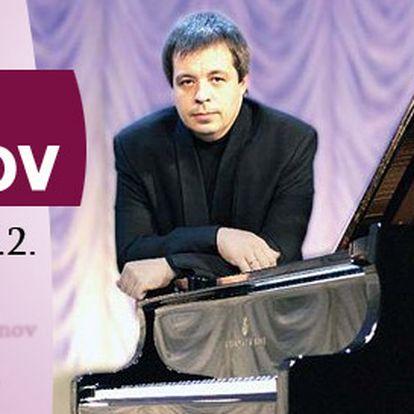 Vstupenky na sólový koncert fenomenálního klavíristy Alexeje Botvinova v Rudolfinu! Naprogramu Bach, Chopin a Rachmaninov.